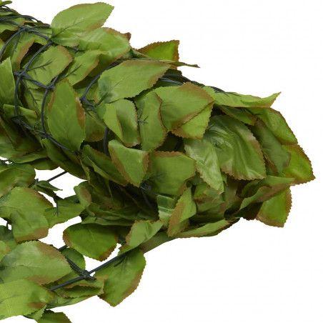 Haie bambou artificiel exterieur mur vegetal a x cm with for Lierre artificiel exterieur