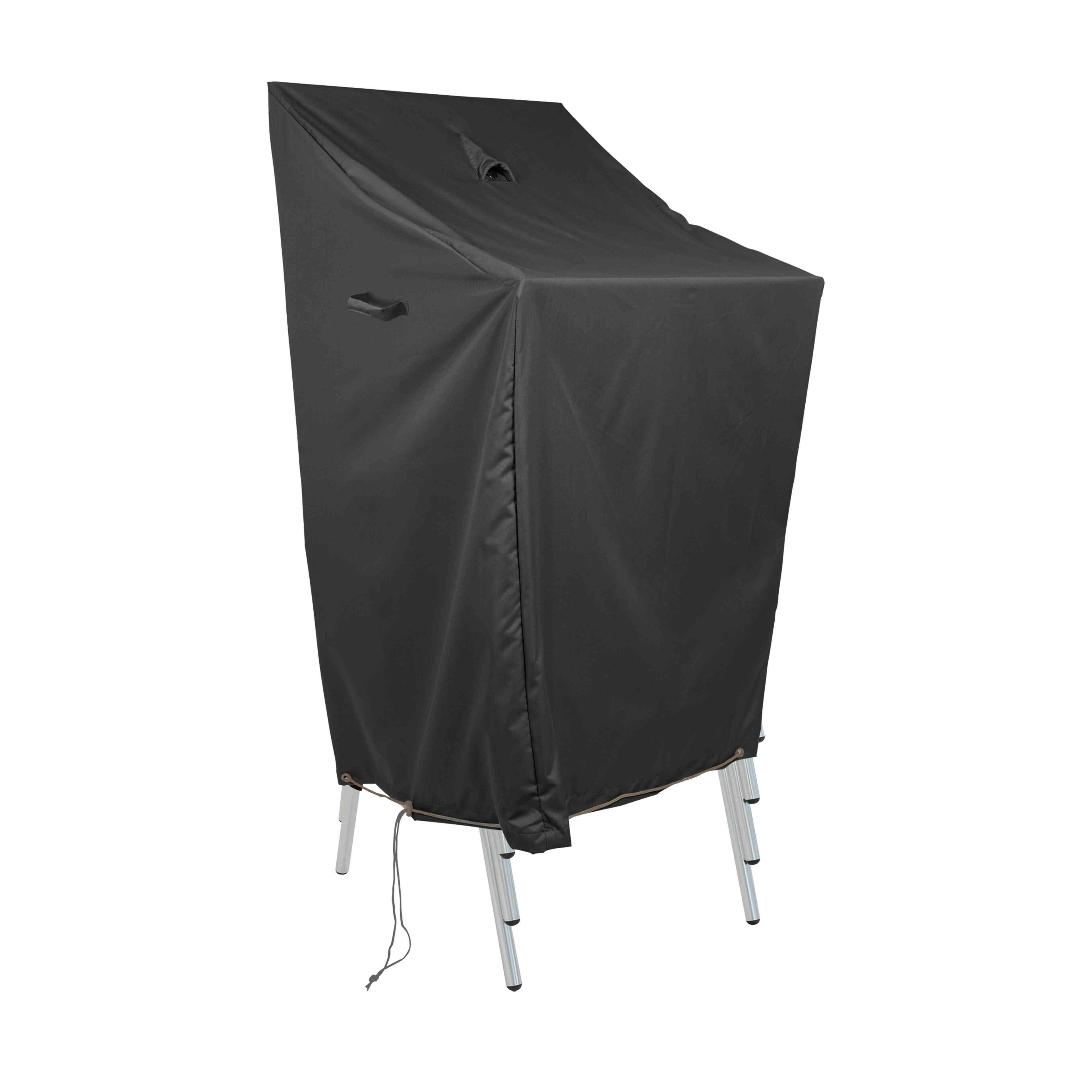 housse de protection pour chaises empilables oviala. Black Bedroom Furniture Sets. Home Design Ideas
