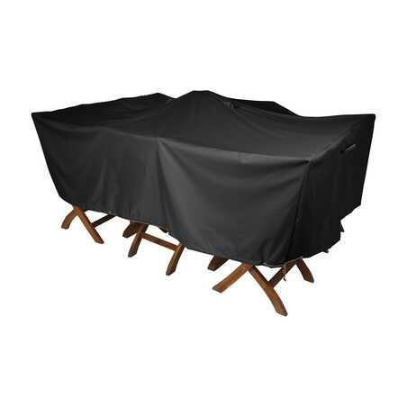 Housse de protection table de jardin 180 x 120 cm