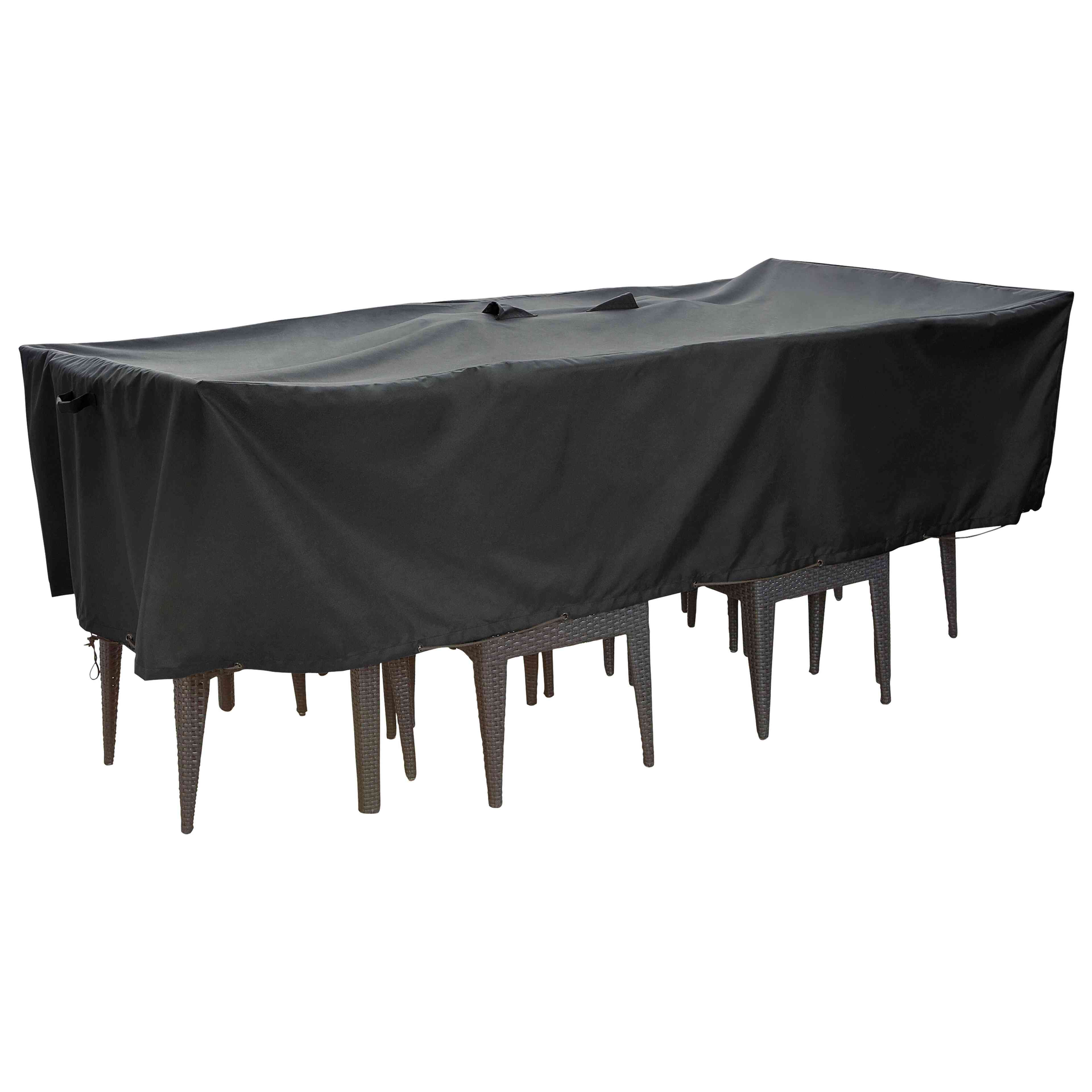 housse de protection premium table de jardin oviala. Black Bedroom Furniture Sets. Home Design Ideas
