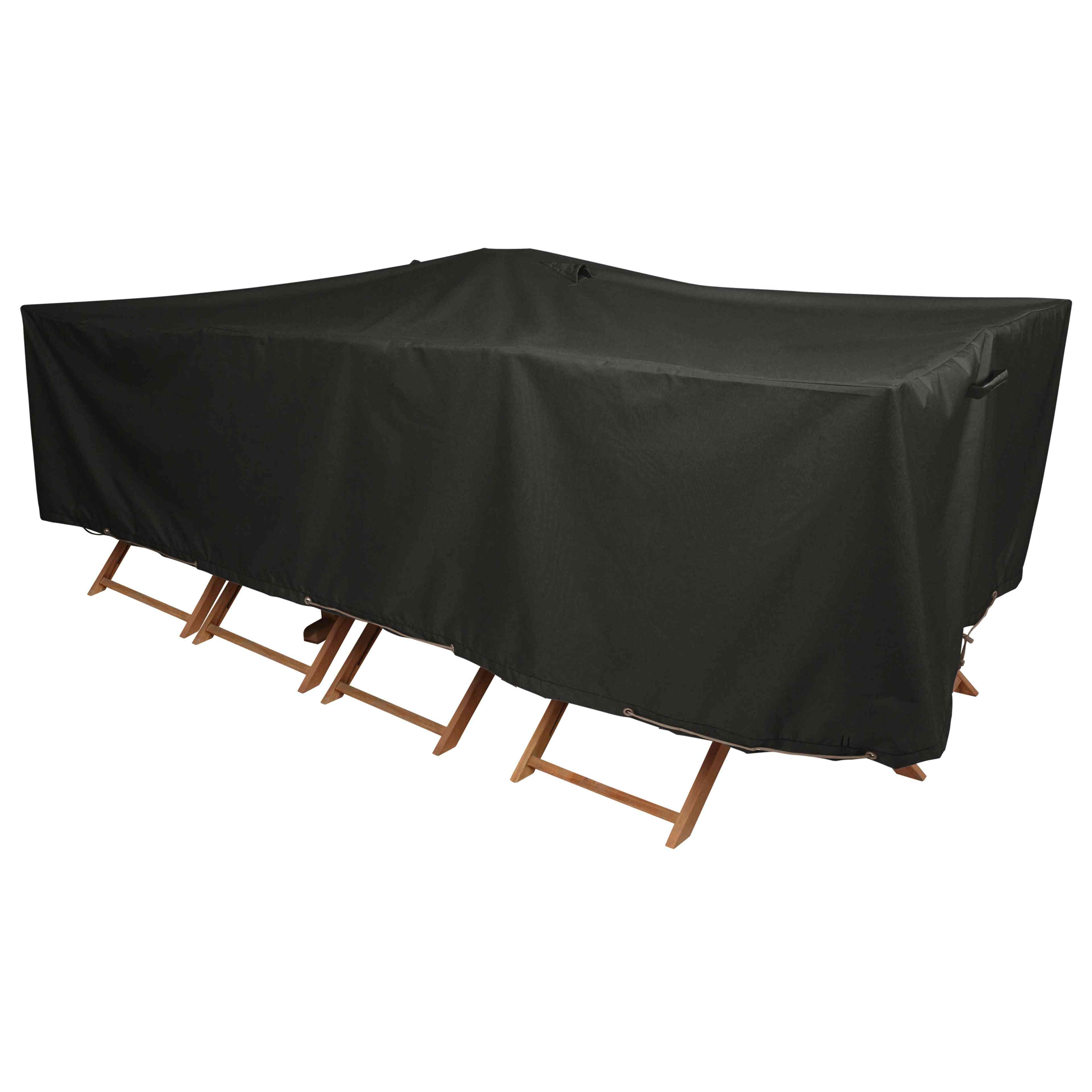 housse table de jardin achat housse table pas cher oviala. Black Bedroom Furniture Sets. Home Design Ideas