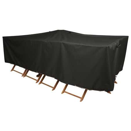 HOUSSE DE PROTECTION TABLE DE JARDIN 300 X 130 CM
