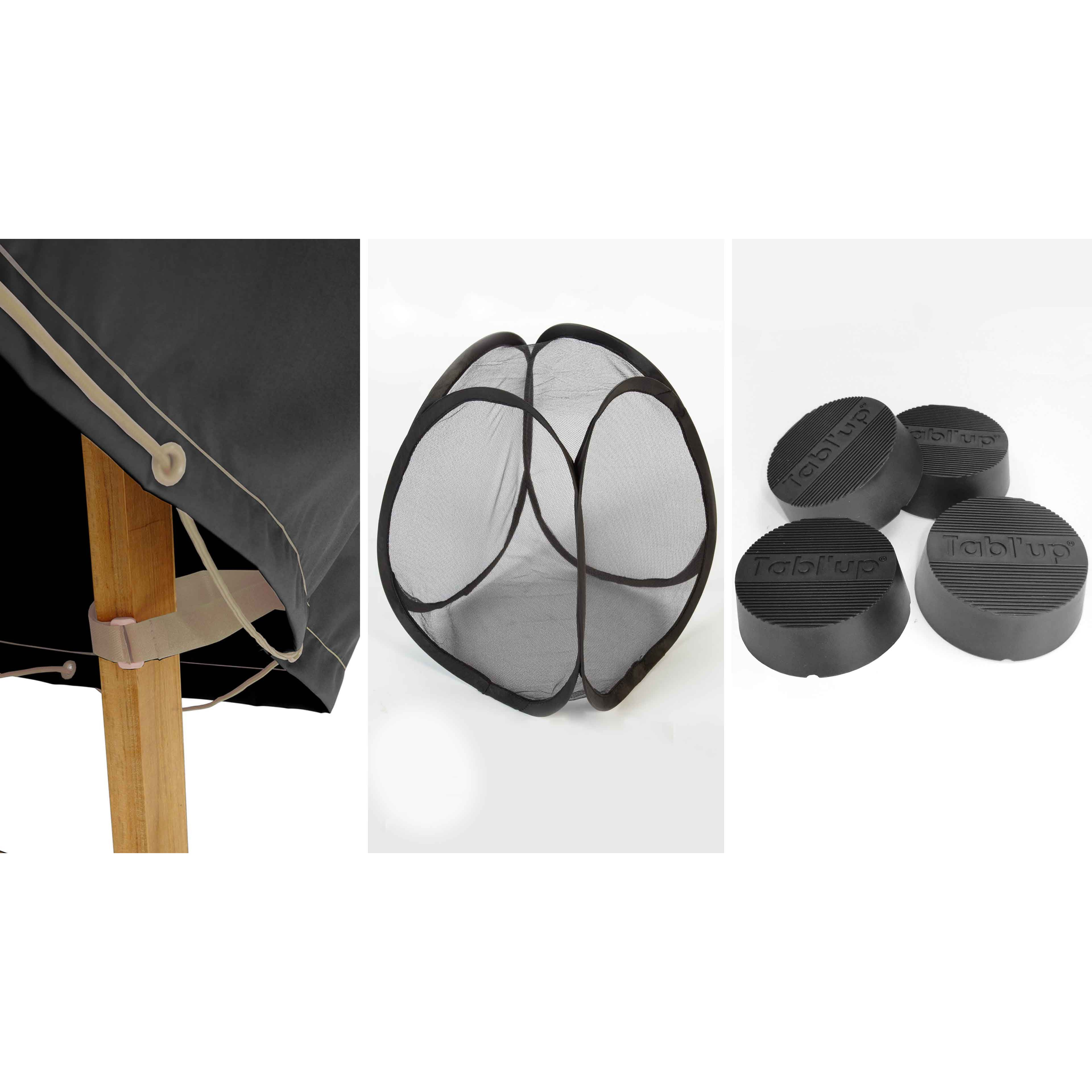 Housse de protection table ronde d\'extérieur | Oviala