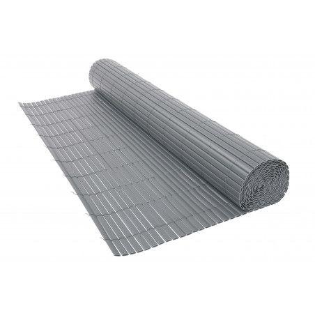 Canisse PVC double face 1600 g/m² gris