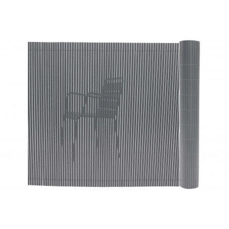 Canisse PVC brise vue gris plastique