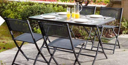 Table de jardin pliante 4 places | Oviala