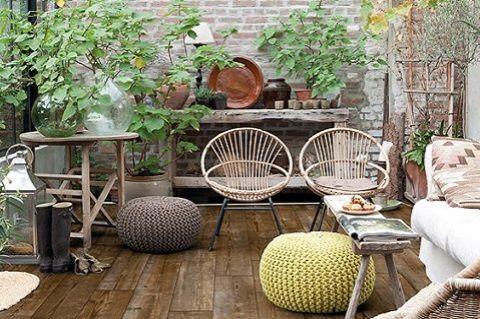 idée de décoration pour 1 patio