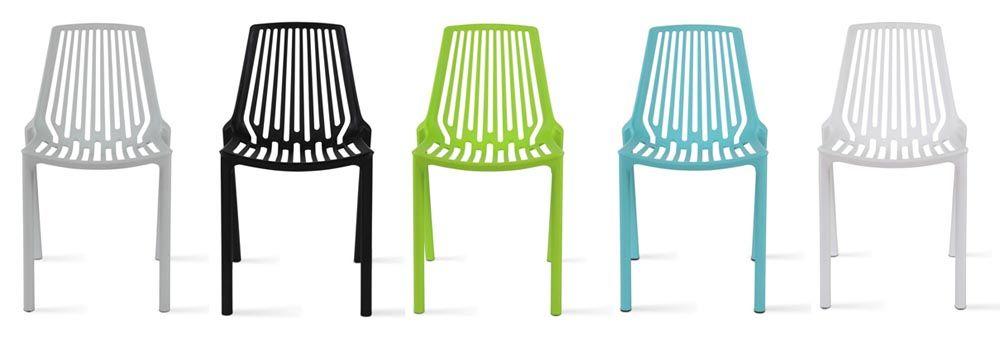 chaise de jardin en résine