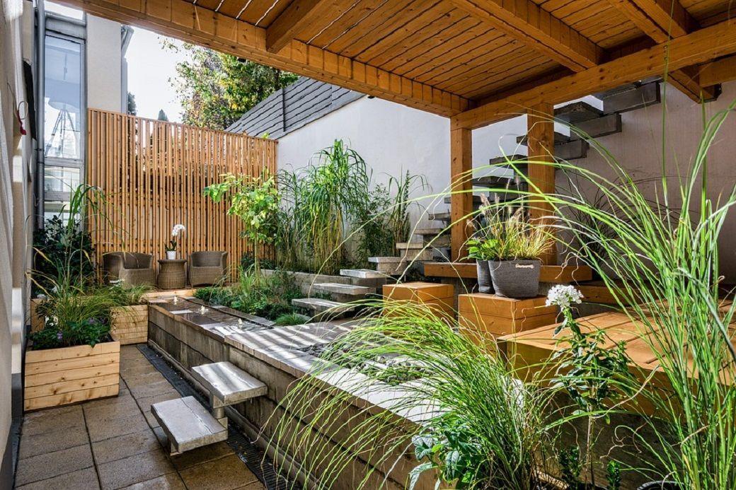 dalle terrasse décoration jardin oviala