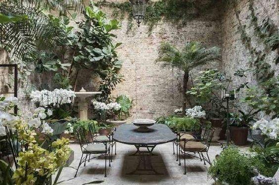 mobilier jardin intérieur