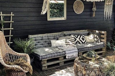 Salon jardin palette