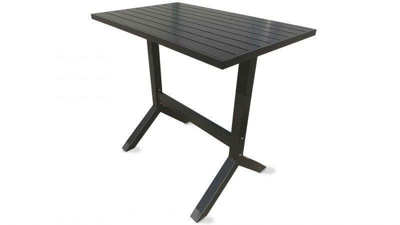 table metal industriel