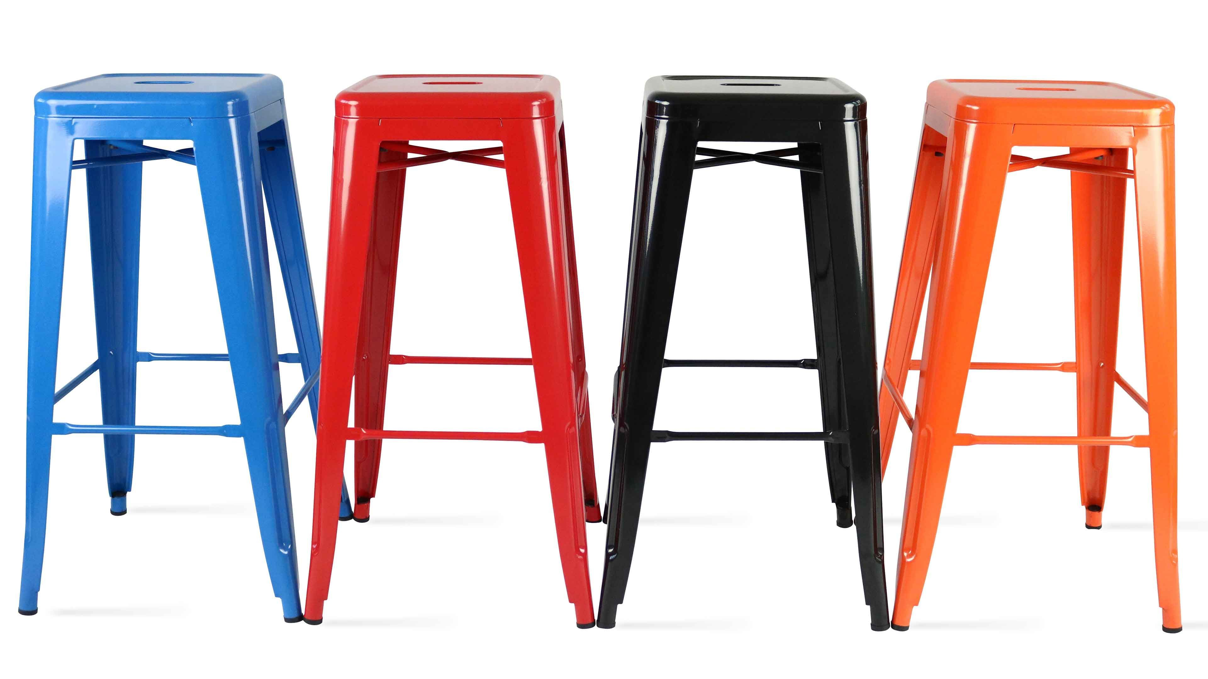 tabouret metal industriel