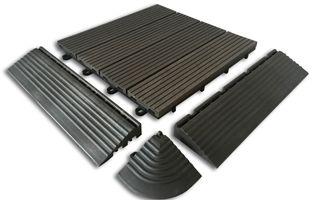 dalle terrasse clipsable pvc gris. Black Bedroom Furniture Sets. Home Design Ideas