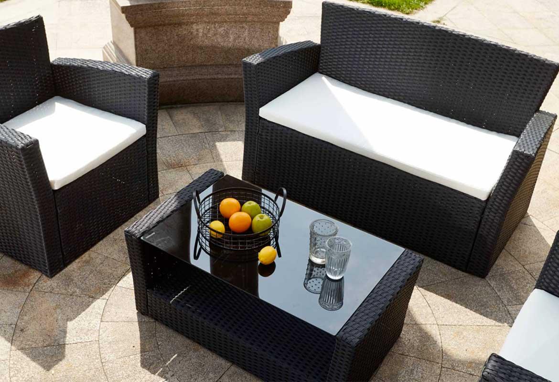 le mobilier de jardin en résine - Oviala
