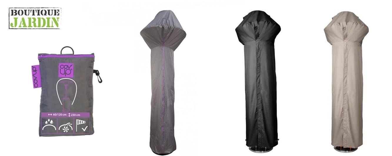 Housse de protection parasol chauffant   Oviala