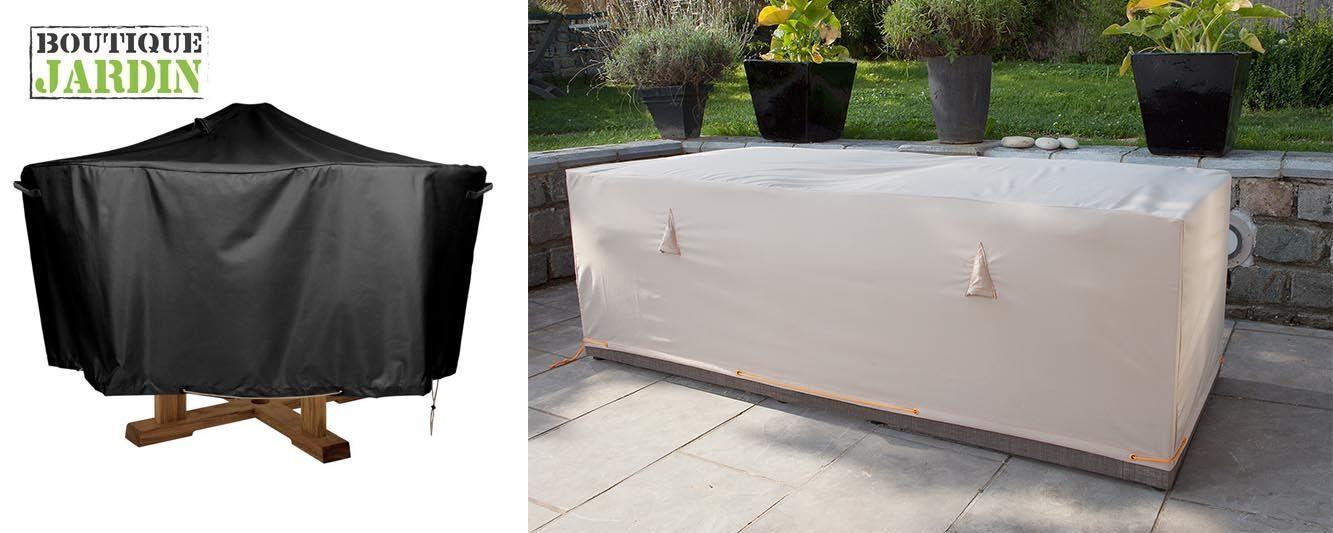 Housse table de jardin : les avantages - Oviala