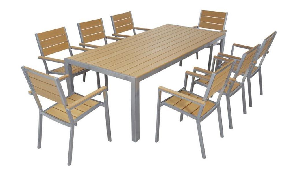 Salon Jardin Aluminium. Cool Table Jardin Aluminium Composite ...