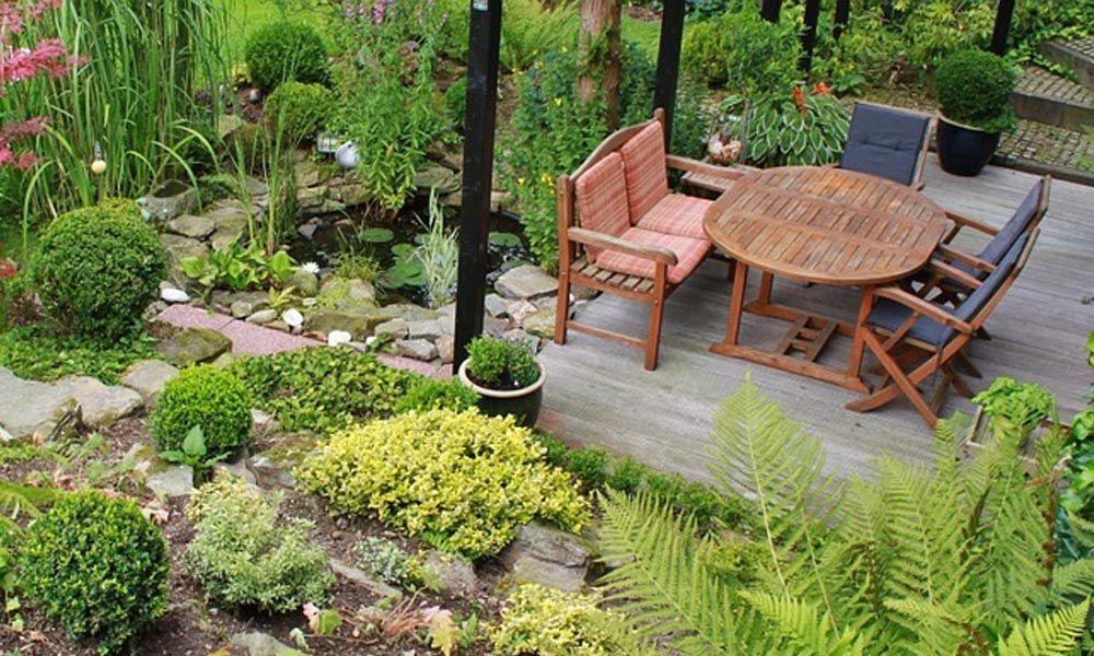 10 salons jardin selon le style de votre jardin - Oviala