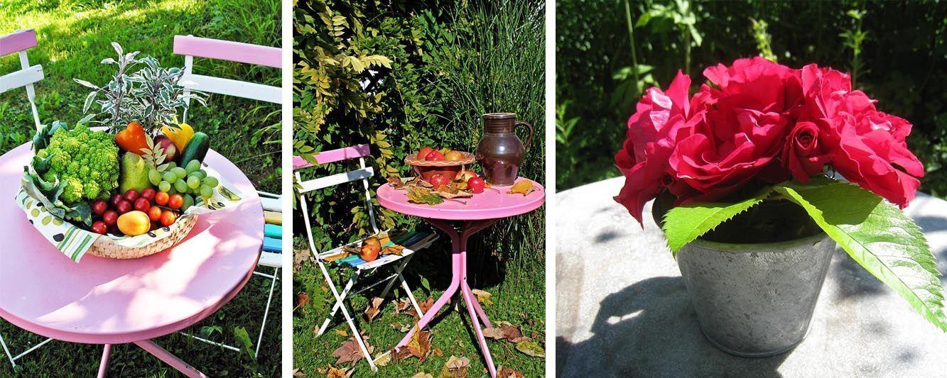 Bien décorer sa table jardin - Oviala