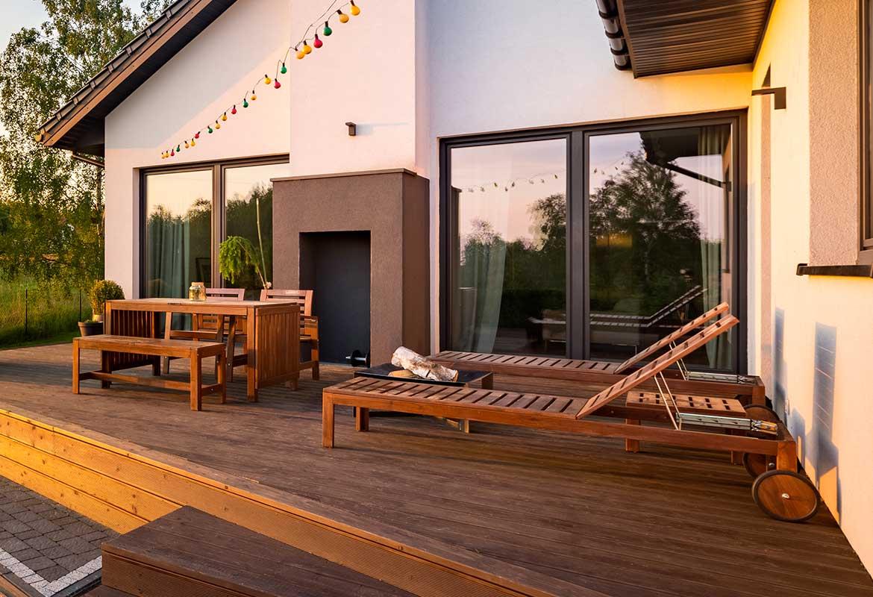 Le mobilier de jardin en bois oviala - Mobilier de jardin bois ...