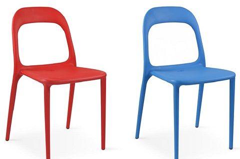 chaise jardin plastique