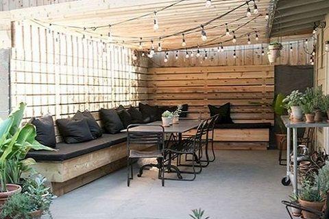 décoration d'extérieur : cour design