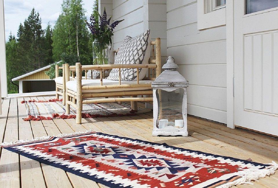 décoration de jardin tapis extérieur