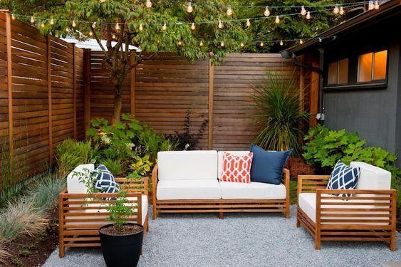 faueuil de jardin en bois design