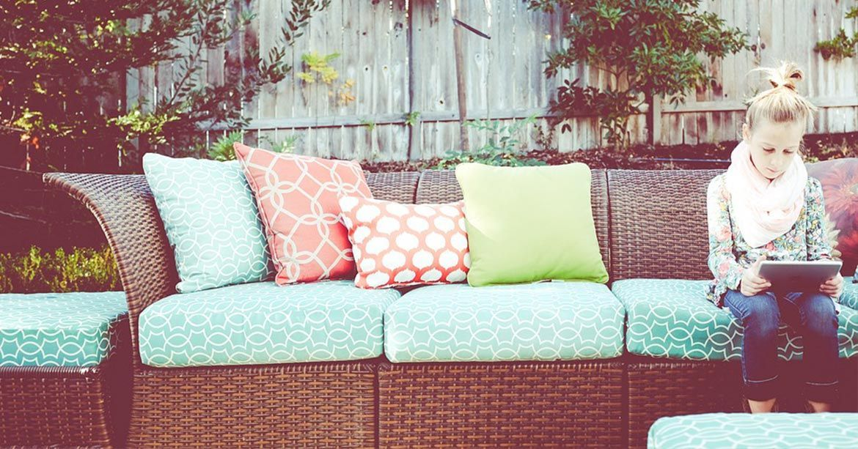 Je veux un salon dans mon jardin - Oviala