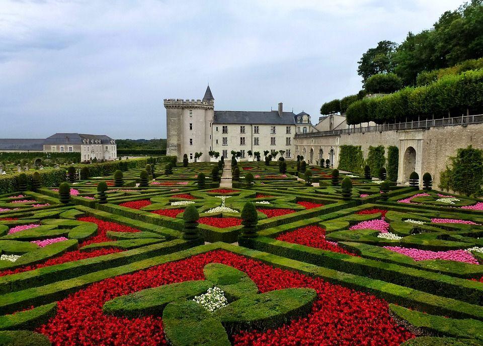 Jardin francias chateau
