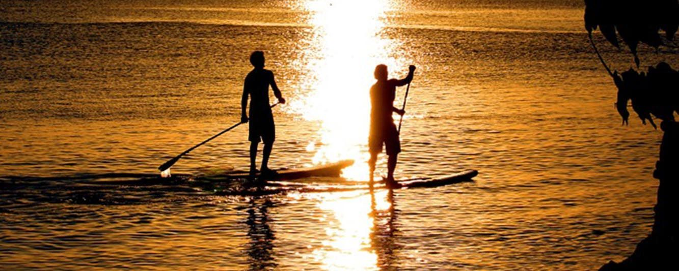 paddle de randonnée