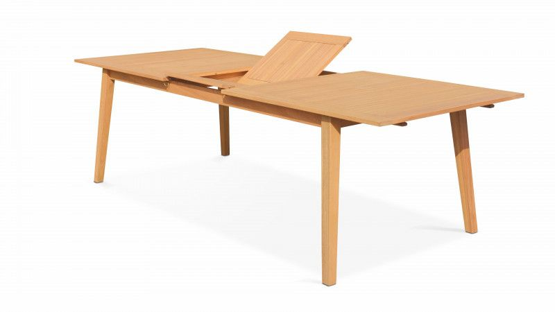 Table de jardin extensible