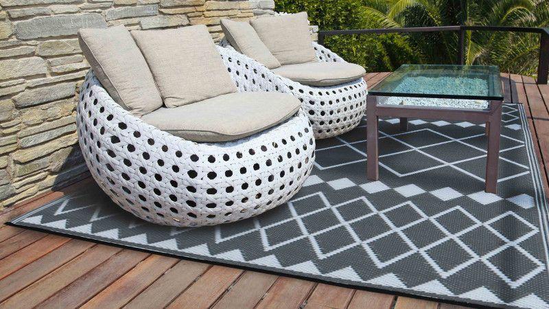tapis décoration de jardin