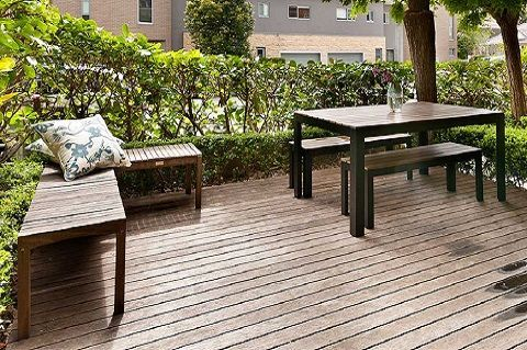terrasse design bois