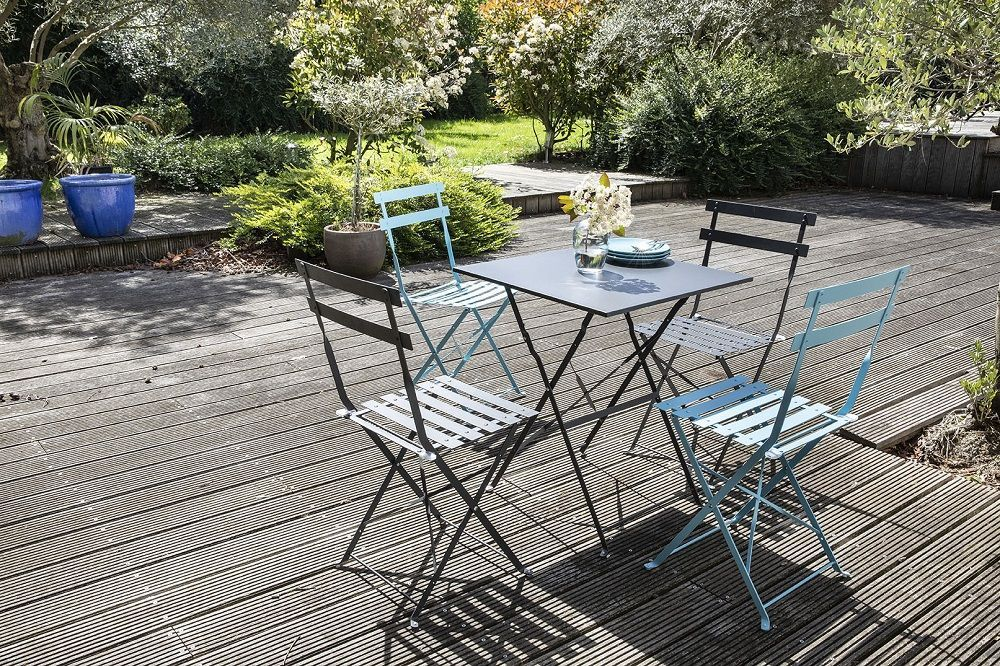 table bistrot de jardin